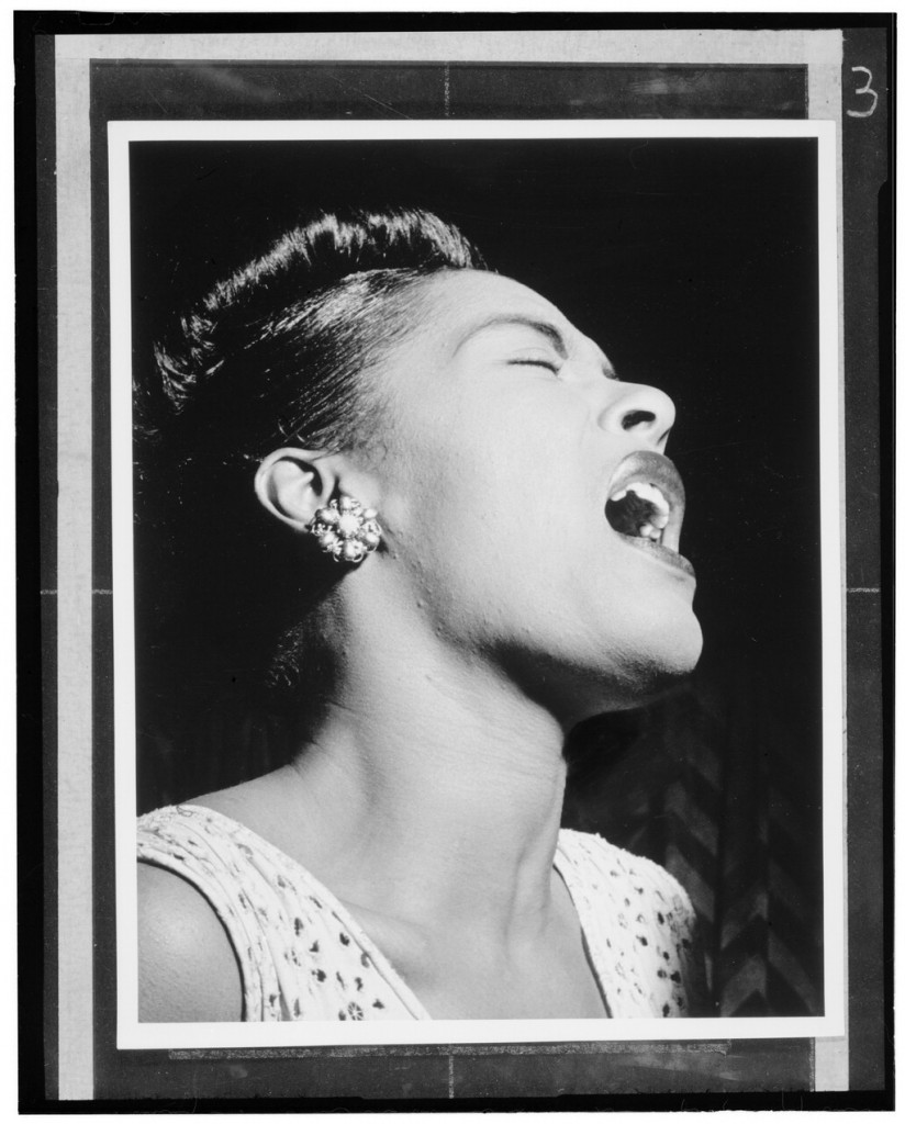 Portrait of Billie Holiday, Downbeat, New York, N.Y., ca. Feb. 1947] Gottlieb, William P.