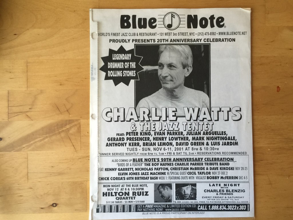 Charlie Watts Flyer